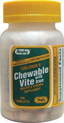 Children's Chewable Vite 100 Tabs For Sale