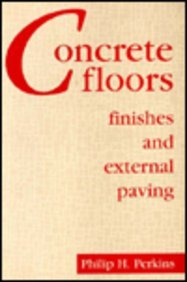 Concrete Floors, Finishes and External Paving