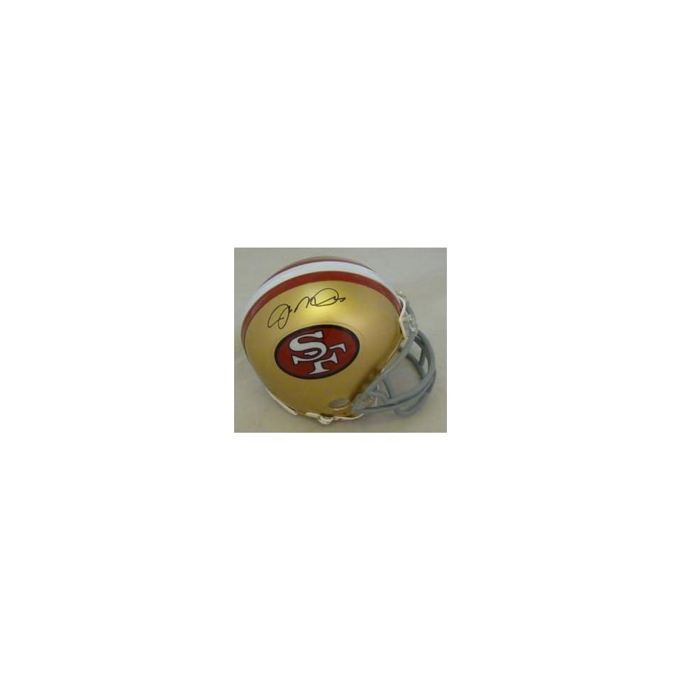 Joe Montana Autographed San Francisco 49ers Riddell Mini