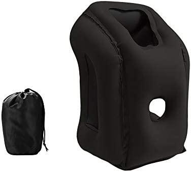 Amazon.com: JYSPT almohada inflable para el cuello, almohada ...