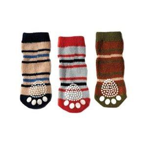 Petrageous Designs Small Pepper' Knit Socks, 3 Patterns, My Pet Supplies