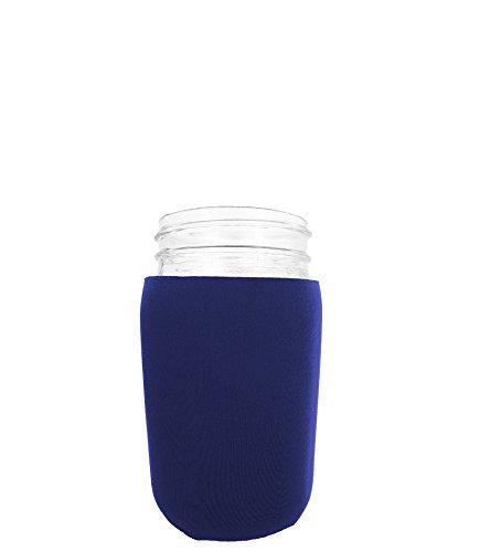 Jar-Z Mason Jar Jacket, 32 oz, Navy (Dark Blue Mason Jars)