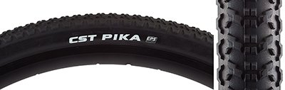 CST Pika Gravel Tire 700x42, Dual Compound, 60tpi, Steel Bead, EPS Puncture Protection, Black by Cst