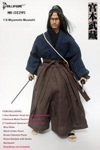 Artcreator_BM CC295 1/6 Samurai Miyamoto Musashi Head,Sword with Clothing Set (Musashi Best Miyamoto Sword)