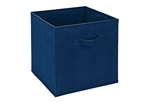 collapsible-fabric-storage-cube-blue