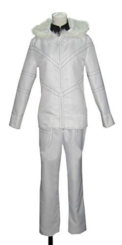 Dreamcosplay Anime A Certain Magical Index Accelerator white Uniform (Accelerator Cosplay Costume)