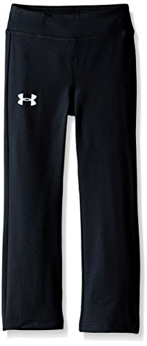Under Armour Toddler Girls' Yoga Pant, Black, 4T (Yoga Pants Under Armour)