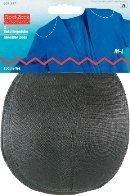 M-L Schulterpolster ohne Haftverschluss Raglan schwarz