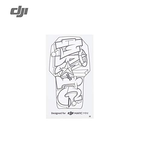 Mavic Mini/Mini 2 DIY Creative Kit Drone Accessories Mini Sticker for DJI Mavic Mini/Mini 2 Sticker Set Hand Draw Skin for Drone Accessories