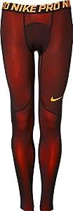 Nike Men's Pro Colorburst Tights (Hyper Crimson/Black, XXL)