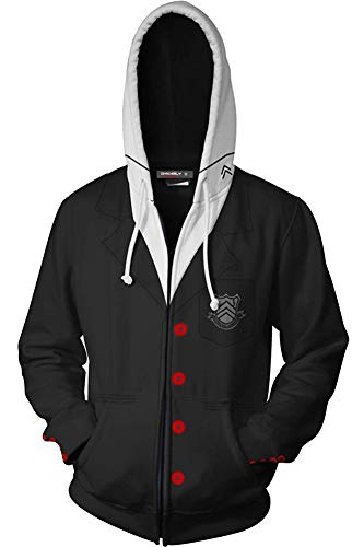 BeautifulTimes Persona 5 Jacket Joker Costume Protagonist Akira Kurusu Hoodies Sweatshirt
