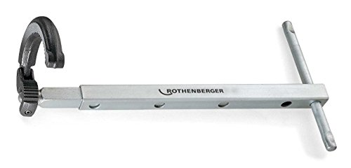 (Rothenberger 70226 Telescopic Basin Nut Wrench, 1-1/4 to 2-1/2-Inch)