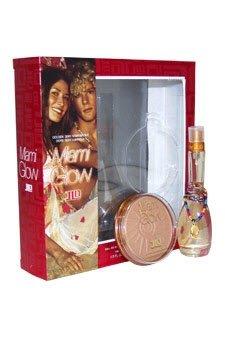 Miami Glow By Jennifer Lopez For Women. Gift Set (Eau De Toilette Spray 1.0 Oz + Golden Bronzing Powder 0.49 Oz) (Jennifer Lopez Glow Gift Set)