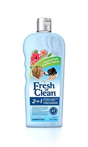 Fresh 'n Clean 2-in-1 Oatmeal Conditioning Shampoo, Tropical Scent, 18 oz. ()