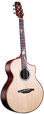 Loivrn Guitarra acústica de cuerda de nylon de 41 pulgadas Bolsa ...
