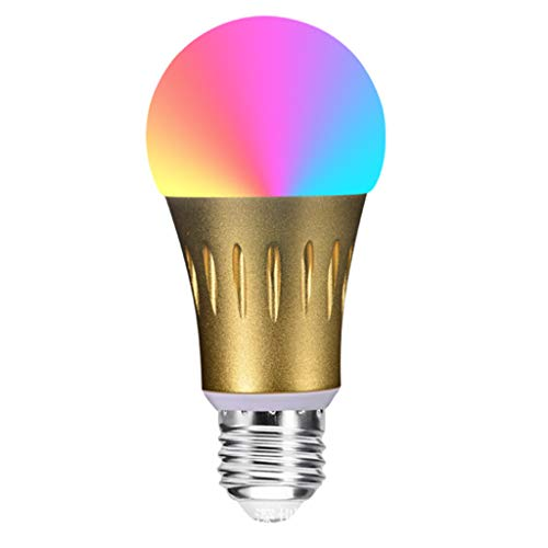 WiFi Smart Light Bulb, Smart Led, Smart App Control Remoto inalámbrico RGB Cambio de Color Alexa y Google Home Color...