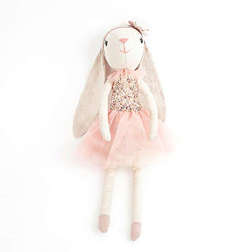 (Monami Floral Bunny Ballerina Designer Plush Doll, 18