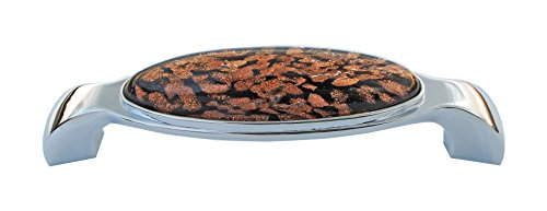 8pcs 11-137 Art Glass Furniture Handle .Handwork Craft Glass Cabinet Cupboard Drawer Pull Handle