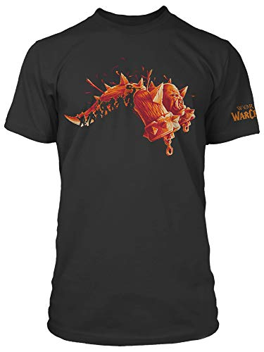 JINX World of Warcraft Warlords Draenor (Expansion Series) Men's Gamer Tee Shirt, Black, X-Large