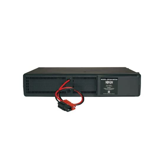 Tripp Lite 24VDC UPS External Battery Pack for Select Tripp Lite UPS 2URM, 2 Year Warranty (BP24V15RT2U) 2 Offers extended-run ups operation when used in conjunction with compatible Tripp Lite UPS systems Supports stacking or rackmount installation using only 2 rack spaces (2U). minimum required rack depth (inches): 13. 5 Includes Heavy gauge cabling With high current DC connectors for simple installation