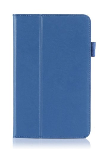 Youvogue Lenovo Ideatab Miix 2 8 8-inch Ultra-thin Multi-angle Stand Slim Smart Cover Case, Only Fit Lenovo Idea Tab Miix 2 8-inch Tablet (Blue)