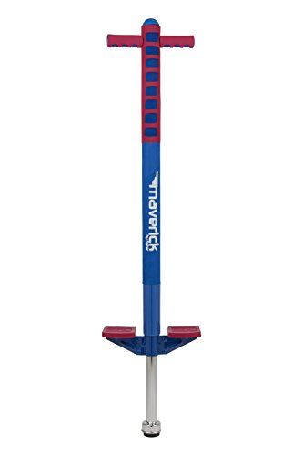 Flybar Maverick Pogo Stick For Kids Ages 5 to 9, 40 to 80 Lbs - Fun Quality Pogo By The Original Pogo Stick - Maverick Materials