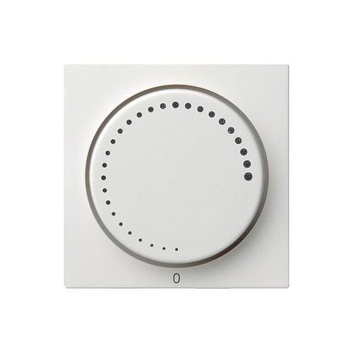 GIRA 065203 Plaque avec bouton pour variateur de vitesse System 55 blanc