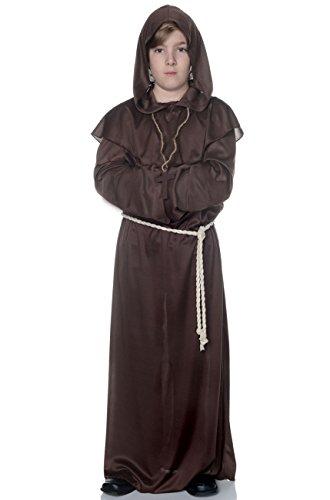 Children's Monk Robe Costume - Small - Halloween Costumes In San Francisco