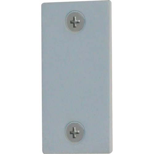 (Defender Security U 9520 Edge Filler Plate, 1-Inch, Gray Steel)