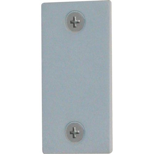 Defender Security U 9520 Edge Filler Plate, 1-Inch, Gray Steel - Edge Plate