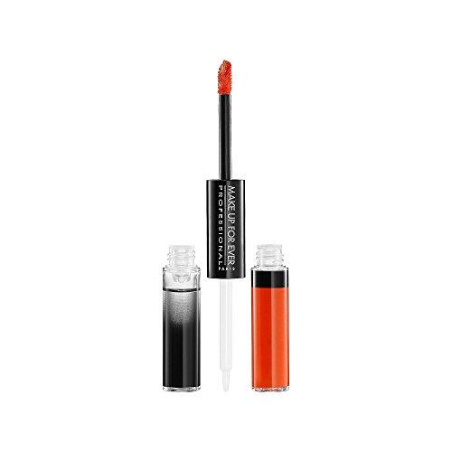 Make Up For Ever Aqua Rouge Waterproof Liquid Lip Color - # 17 (Bright Orange) (Liquid Rouge)