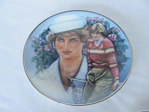 - Princess Diana Collectible Plate --