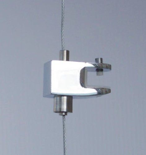 (Cable Display Systems: Single-Sided Clamp - 6 pcs)
