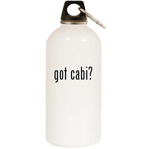 Towel Warmer Taiji (got cabi? - White 20oz Stainless Steel Water Bottle with Carabiner)