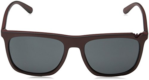 EA4095 Emporio Bordeaux Sonnenbrille Armani 560187 On Black Zq7EUwF