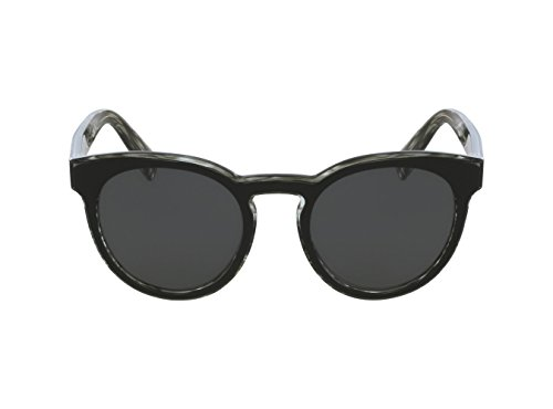 Dolce & Gabbana Men's Acetate Man Round Sunglasses, Top Black on Striped, 51 - And Gabbana Striped Sunglasses Dolce