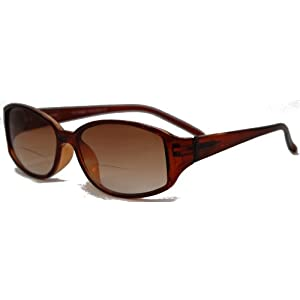 In Style Eyes Stylish Bifocal Sunglasses Brown 2.50