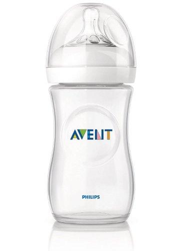 Philips Avent New Natural 11oz/330ml Single Pack Baby Feeding Bottle BPA Free
