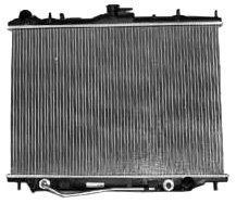 TYC 2195 Honda/Isuzu 1-Row Plastic Aluminum Replacement Radiator ()