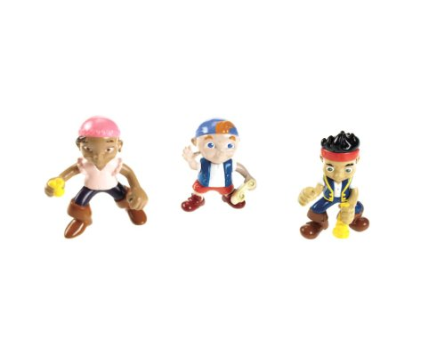 Fisher-Price Disney's Jake and the Never Land Pirates - Jake, Izzy and Cubby Pirate Pack (Jake And The Neverland Pirates Action Figures)