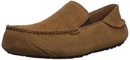 (UGG Men's Upshaw Driving Style Loafer, Chestnut, 11 Medium US)