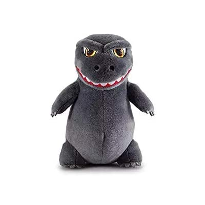 Stariver Store Godzilla Plush Super Cute Plush Dinosaur Dragon Monster Plush Toys Stuffed Animal Birthday Xmas Kid Gift (Small): Toys & Games