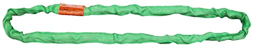 Liftall EN60X6 Tuflex Sling, Endless, 6', Green