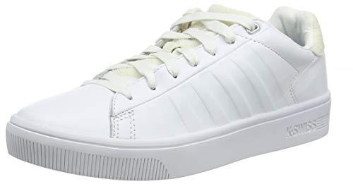 K-Swiss Women's Court Frasco Sneaker White/Pony 7.5 M US