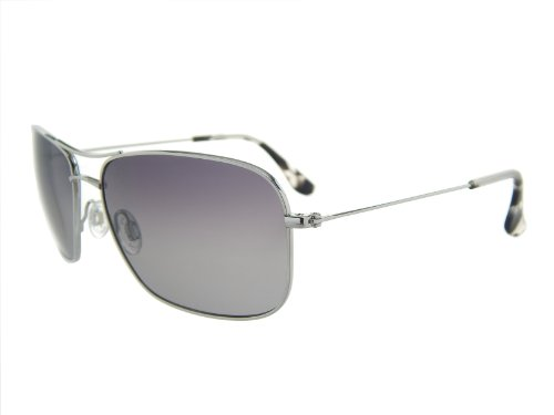 New Maui Jim Wiki Wiki GS246-17 Silver /Neutral Grey Polarized Sunglasses