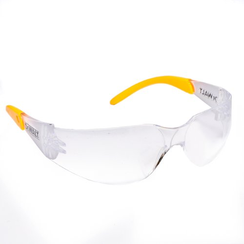 Glass Camden (Dewalt DPG54-1D Protector Clear High Performance Lightweight Protective Safety Glasses with Wraparound Frame)