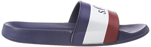 white Hombre Para Mules Azul navy S oliver red 17102 H0qnA7B