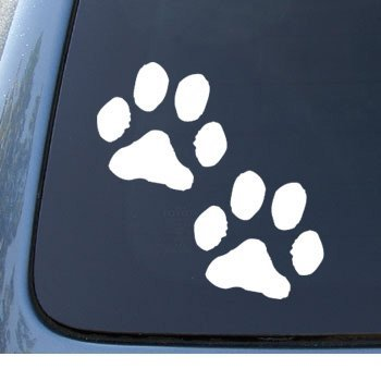 Amazoncom PAW PRINTS Puppy Dog Car Truck Notebook Vinyl - Vinyl decal stickers for cars