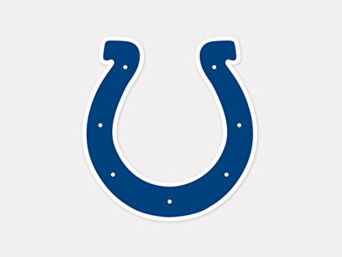 NFL Indianapolis Colts 63048011 Perfect Cut Color Decal, 4