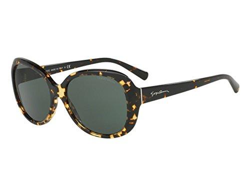 Giorgio Armani AR8047 - 529471 Sunglasses Brown Havana/ Green 56mm  -